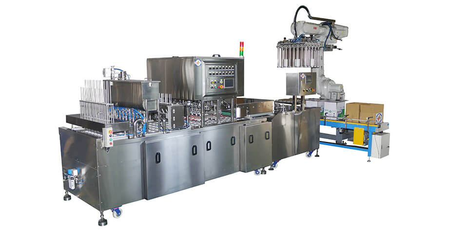 全自動封口機、直線式封口機- 客製化全自動封口機與充填機的專業製造商 | 捷輝機械