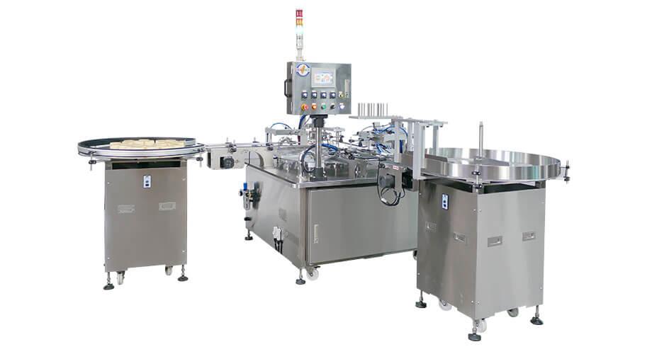 封口機、圓盤型自動封口機 - 客製化充填機與封口機的專業製造商 | 捷輝機械有限公司