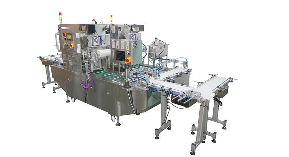 杯裝封口機、盒裝封口機 - 客製化充填機與封口機的專業製造商 | 捷輝機械有限公司
