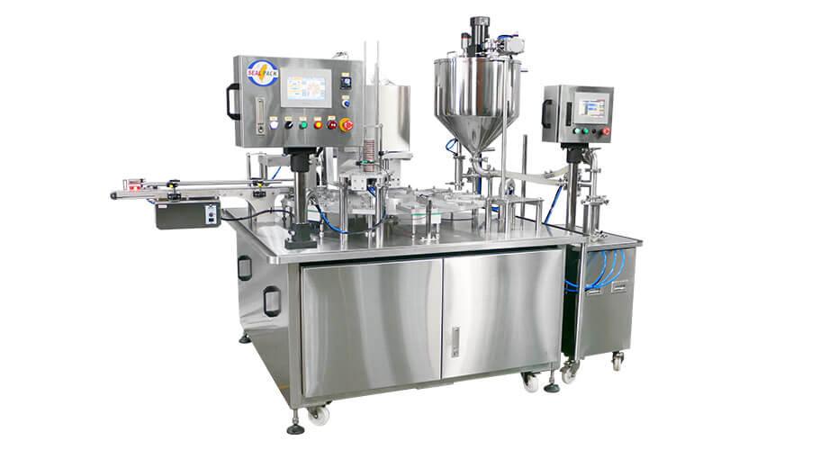 杯裝充填封口機、液體充填機 - 客製化充填機與封口機的專業製造商 | 捷輝機械有限公司